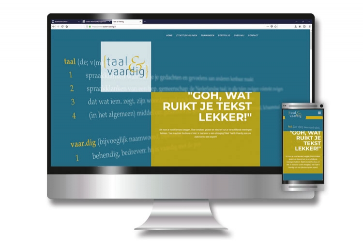 website Taal & Vaardig
